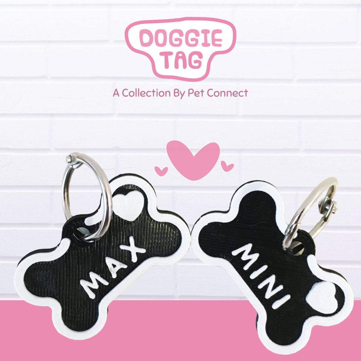 Pet Connect Doggie Tag